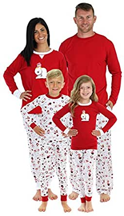 Sleepyheads Penguin and Polar Bear Family Matching Pajama Set - Infant - Red Top (SHM-4037-I-Red-18M)