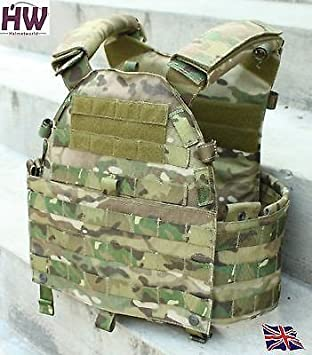 AIRSOFT LBT 6094 STYLE MULTICAM MTP PLATE CARRIER CHEST RIG