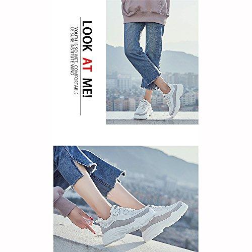 Ultra Color EU37 Version Sports shoes Size 5 UK4 White Leisure cozy Fire CN37 Black Shoes Shoes 5 LVZAIXI Korean 4Hq51