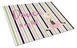 Caroline's Treasures Ballet Dance Is My Life Blonde Glass Cutting Board Large, Multicolor