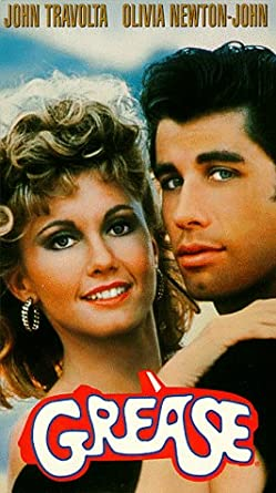 Amazon com: Grease [VHS]: John Travolta, Olivia Newton-John