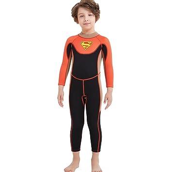 Amazoncom Dive Sail Kids 25mm Neoprene Wetsuit Upf 50 Quick