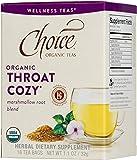 Choice Organic Teas Wellness Tea, Throat Cozy, 16 Count