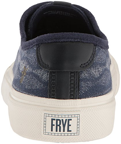 Low Mens FRYE Navy Ludlow Canvas Print 81283 OF44qCtw