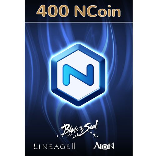 Software : NCSOFT NCoin 400 [Online Game Code]