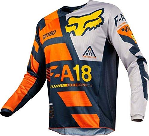 Fox Racing 180 Sayak Orange Jersey/ Pant Combo - Size LARGE/ 32W