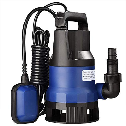 Yescom 1HP 3432GPH 750W Submersible Dirty Clean Water Pump...