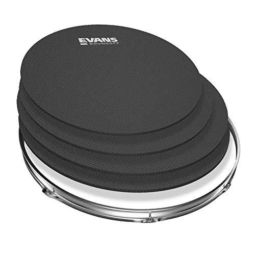 4 Parches Para Tambores de Batería SoundOff Evans
