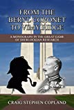 img - for From The Beryl Coronet to Vimy Ridge: The Sherlock Holmes Factor in the Causes of World War I book / textbook / text book