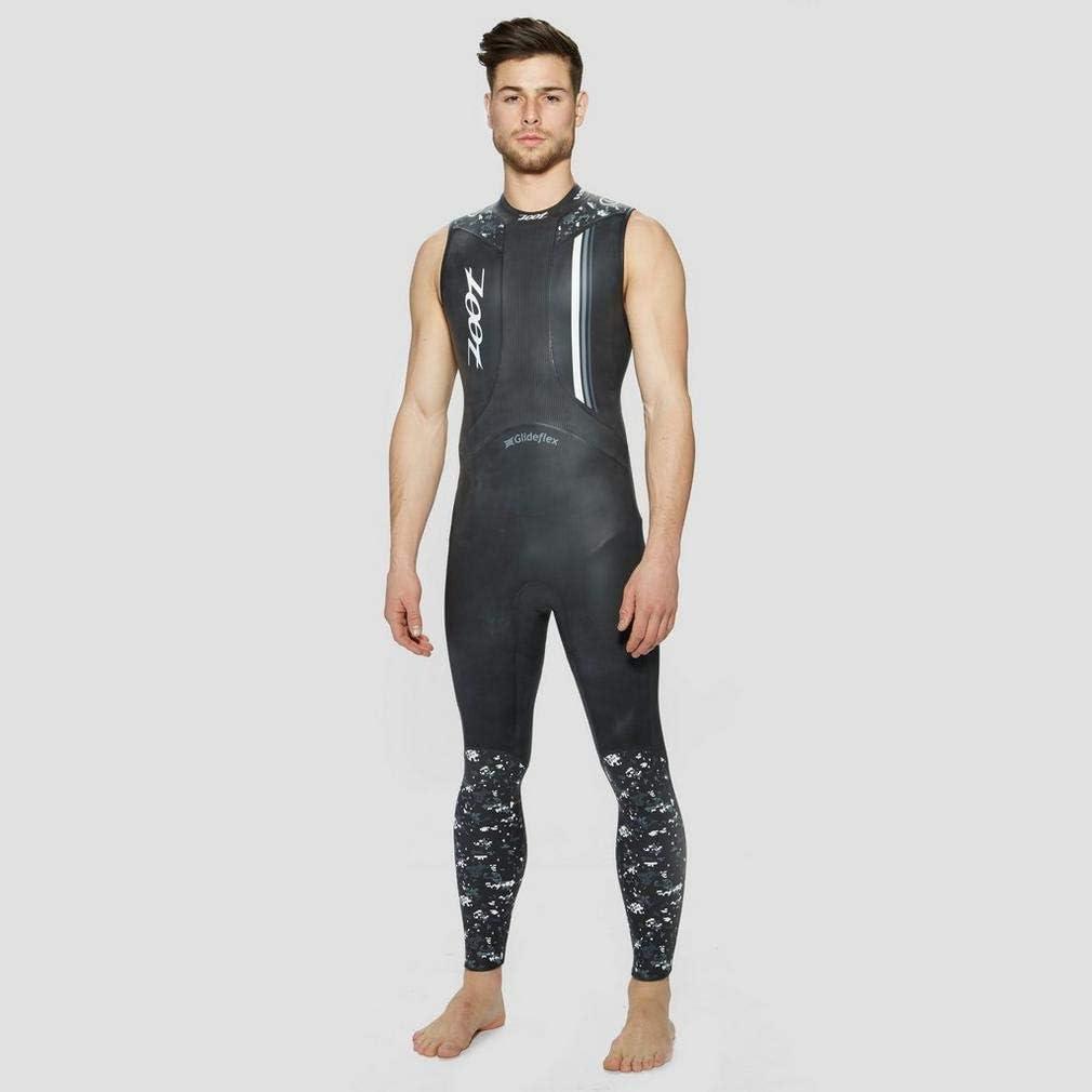 Negro M Zoot Wave 1 Traje de Neopreno sin Mangas para Hombre Traje de triatl/ón Traje de Neopreno Negro