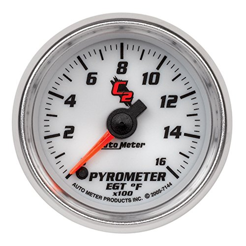 - Auto Meter 7144 C2 Electric Pyrometer Gauge Kit