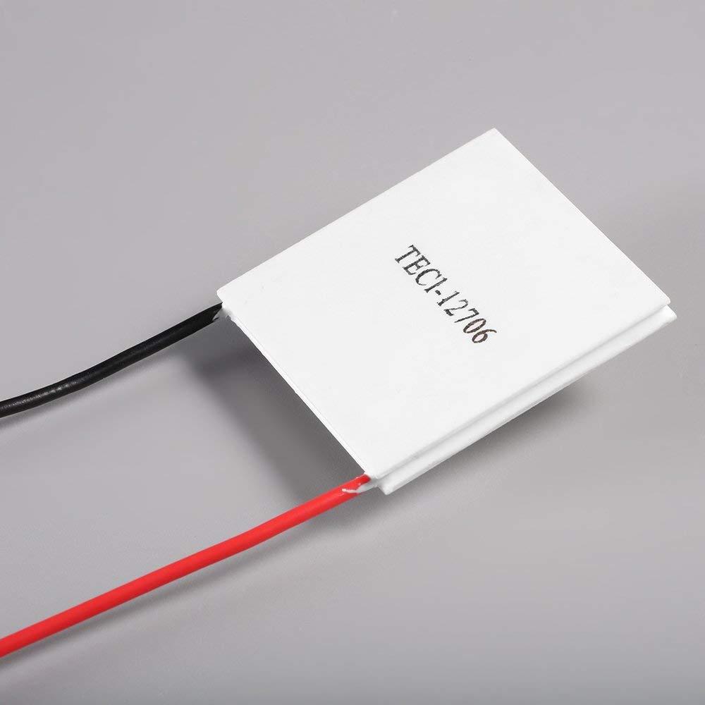 Amerryllis 12 V 60 W TEC1-12706 Temperature Power Generation Heatsink Cooler Thermoelectric Peltier Plate Panel Cooling CPU Module