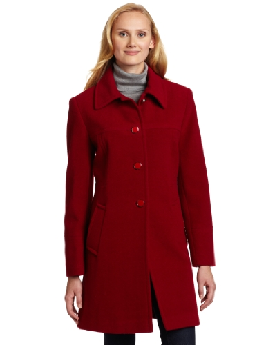 Woman Single Breasted Classic Coat - 9