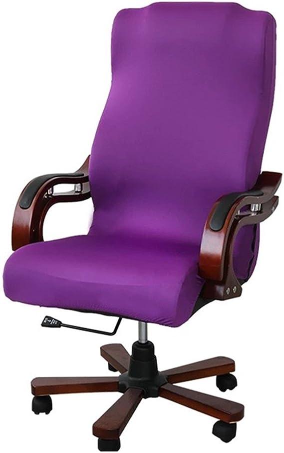 Poliestere Zerci Solo Copertina, Nessuna Sedia Copri sedie per Ufficio Copri sedie per sedie da Computer Elasticizzate Colour 15 Copri sedie su Misura Large bi-Elastiche