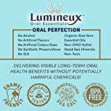 Lumineux Oral Essentials Teeth Whitening Toothpaste 2 PCK   Certified Non Toxic   Sensitivity Free   Fluoride Free   Whiter Teeth in 7 Days   NO Artificial Flavors, SLS Free, Dentist Formulated