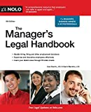 img - for Manager's Legal Handbook, The book / textbook / text book