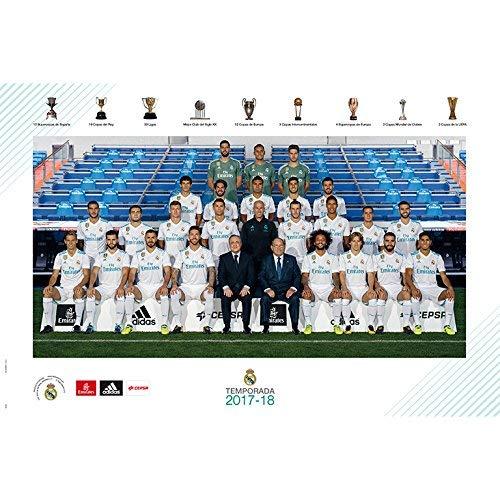 Grupo Erik Editores gpe5182/ 61/x 91.5/cm /Poster 2017//2018/mit Design Real Madrid Schablone