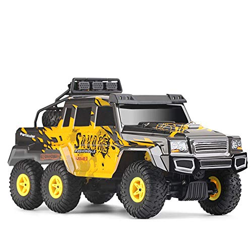 (Remote Control car 1:18 6WD 2.4G Remote Control six-Wheeled Big-Foot Off-Road Vehicle Hummer Toy Model)