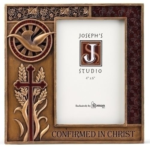 Best Roman Friend Vertical Picture Frames - Roman 7.5 Resin Bronze Finish Confirmation