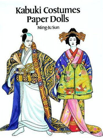 Kabuki Costumes Paper Dolls for sale  Delivered anywhere in USA