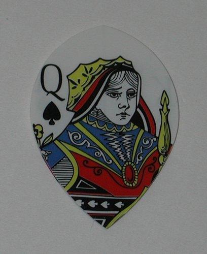 US Darts - 5 Sets (15 Flights) - Poker AKQJ - Hard Poly Flights