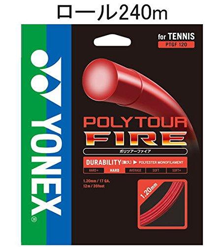 ヨネックス ポリツアーファイア 240mロール ヨネックス POLYTOUR レッド FIRE FIRE レッド PTF120-2 001 B01CCJAO2A, 卸問屋 ザフールセールショップ:086bd798 --- cgt-tbc.fr