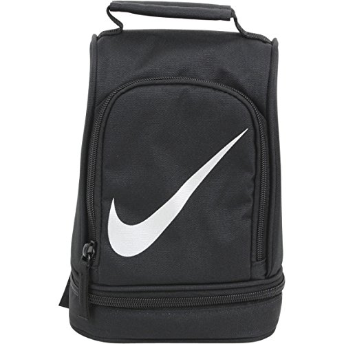 Nike Paneled Upright Insulated Lunchbox - black/silver, one