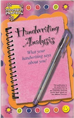 handwriting analysis putting it to work for you pdf