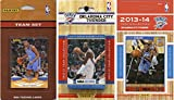 NBA Oklahoma City Thunder 3 Different Licensed Trading Card Team Sets