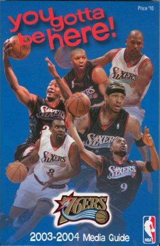 Philadelphia 76ers 2003-2004 Media Guide (Fischer Price Basketball)