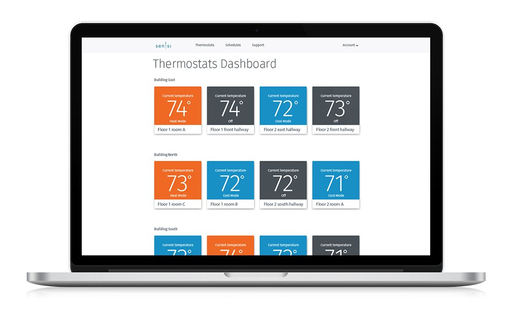 Emerson Sensi Touch Wi-Fi Thermostat for Multiple Thermostat Manager, 6-pack - - Amazon.com