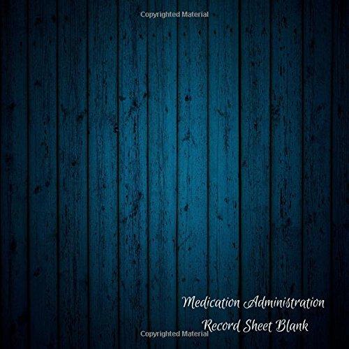 Download Medication Administration Record Sheet Blank: Medication Log pdf