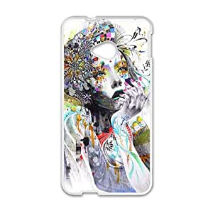 HTC One M7 Oil painting Phone Back Case Use Your Own Photo Art Print Design Hard Shell Protection LK110550