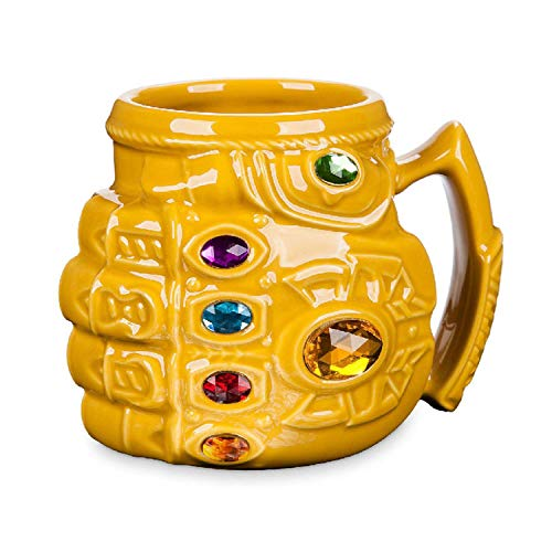 New Marvel Thanos Gloves Fist Coffee Mugs Anime Cups And Mugs Cool Plastic Infinity Gem Mark Cartoon Drinkware Best Gift For Kid,Fist Coffee Mug (Anime Osters)