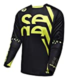 Seven Rival Chop Men's MotoX Motorcycle Jersey - Black / X-Large