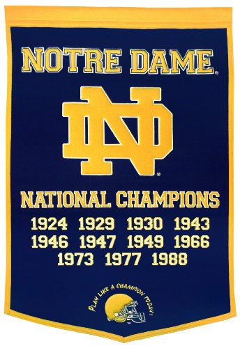 Notre Fighting Irish Dynasty Banner
