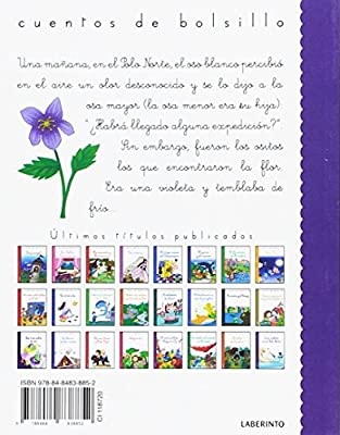 Una violeta en el Polo Norte (Cuentos de bolsillo): Amazon.es ...