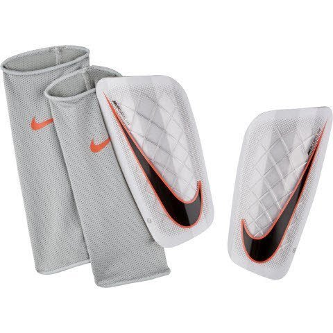 Nike Mercurial Lite Soccer Shin Guards, Size X-Large