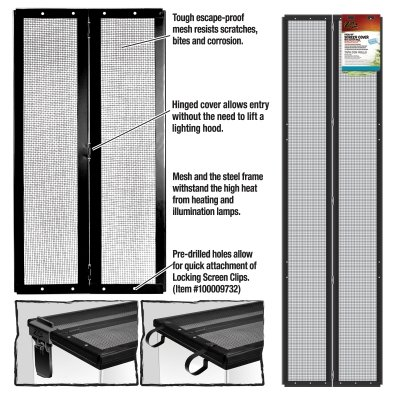 ENERGY SAVERS UNLIMITED,INC. - SCREEN COVER METAL/HINGE 48X13 by Unknown