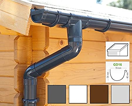 in 4 Colours   GD16 All-in-one kit up to 3,50 m, Anthracite Ideal ...