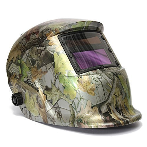 LESOLEIL Electrical Welding Helmet Solar Energy Automatic Grinding Mask by LESOLEIL