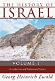The History of Israel, Heinrich Ewald, 159244881X
