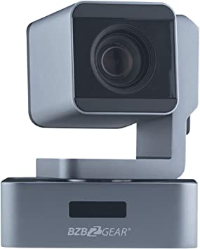 BZBGEAR PTZ Full HD 1080P HDMI/SDI/USB 3.0 Live Streaming Camera with POE (10X Optical Zoom)