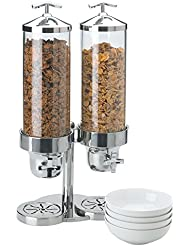 Vollrath 4635210 Somerville 4 Quart S S Double Cereal Dispenser