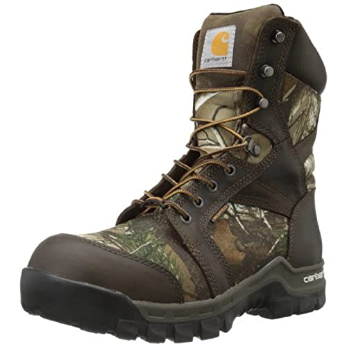 "Carhartt Men's 8"" Rugged Flex Insulated Waterproof Breathable Composite Toe Leather Boot"