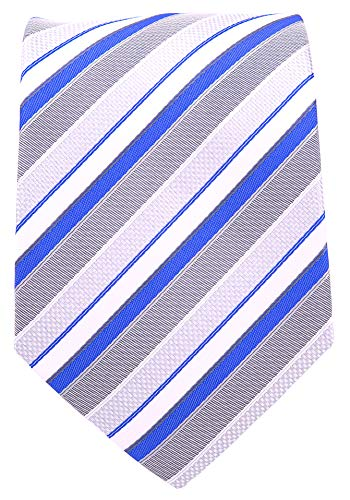 Neckties By Scott Allan - Sky Blue & Gray Men's Tie ()