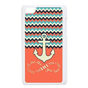 live the life you love Discount Personalized Cell Phone Case for iPod Touch 4, live the life you love iPod Touch 4 Cover