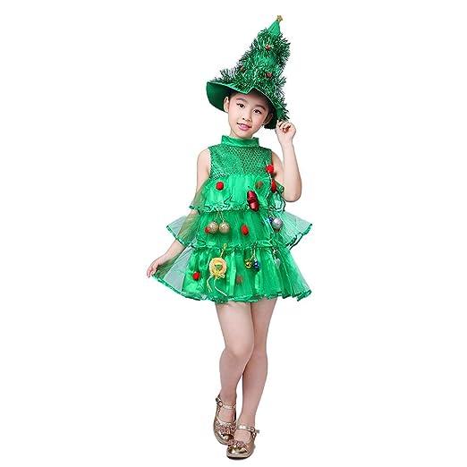 JOYOOY - Disfraz de árbol de Navidad con diseño de árbol de ...