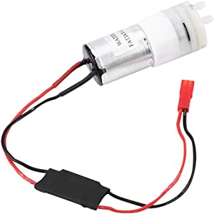 V BESTLIFE RC Water Pump, 5V 370 Water Cooling Pump JR Plug Step-Down Waterproof Low Noise Module Accessory Part for RC Boats Motor & ESC