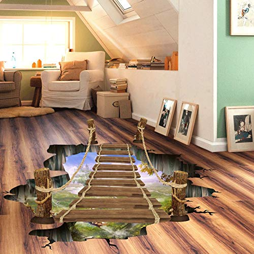 (New Large 3D Cosmic Space Wall Sticker Galaxy Star Bridge Home Decoration (6))